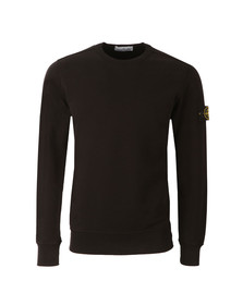 Stone Island Mens Black Sweat Top