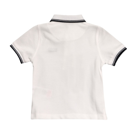 Boss Boys White Baby Tipped Polo Shirt main image