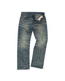 G-Star Mens Blue 3301 Loose Jean
