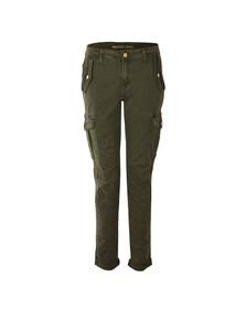 Michael Kors Womens Green Pigment Dye Cargo Jean