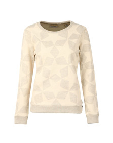 Maison Scotch Womens Grey Allover Star Print Sweat
