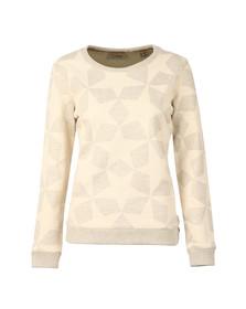 Maison Scotch Womens Grey Allover Star Print Sweat