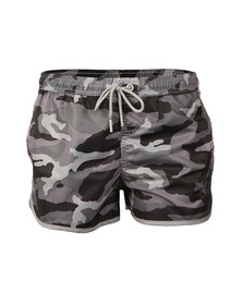 Gym king Mens Grey Racer Swimmer