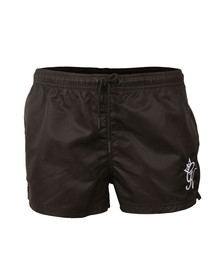 Gym king Mens Black Racer Swimmer