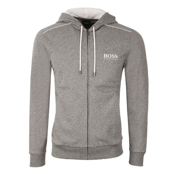 BOSS Loungewear Mens Grey Marl Full Zip Hoody main image