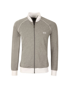 Boss Mens Grey Full Zip Track Top