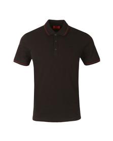 Hugo Mens Black Daymont Polo Shirt