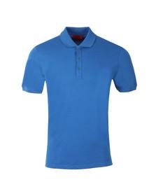Hugo Mens Blue Nono Classic Polo