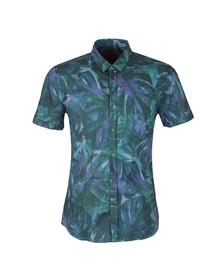 Hugo Mens Green Empson S/S Shirt