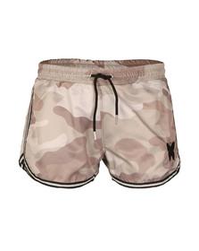 Good For Nothing Mens Grey Camouflage Swim Shorts
