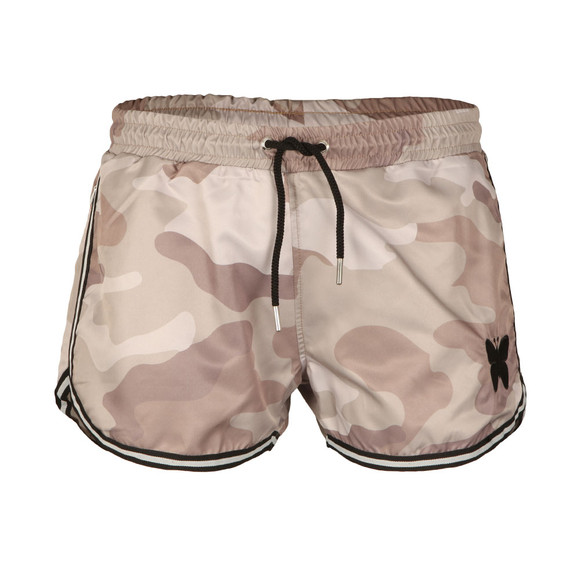 Good For Nothing Mens Beige Camouflage Swim Shorts main image