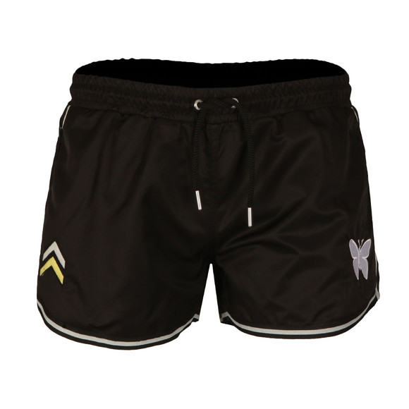 Good For Nothing Mens Black Military Swimshorts main image