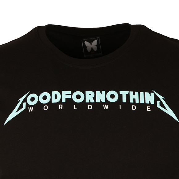 Good For Nothing Mens Black Tour T Shirt main image