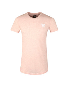 Good For Nothing Mens Pink Marl T Shirt