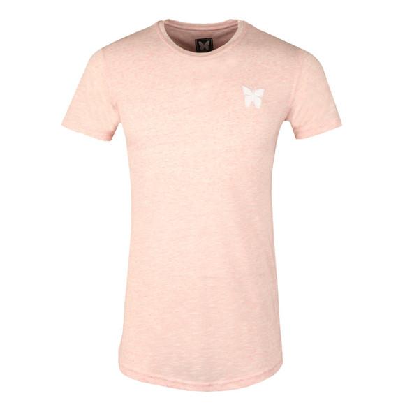 Good For Nothing Mens Pink Marl T Shirt main image