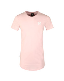 Good For Nothing Mens Pink Essential T Shirt