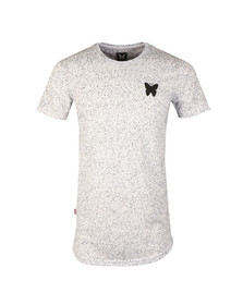Good For Nothing Mens White Asphalt Speckle T Shirt