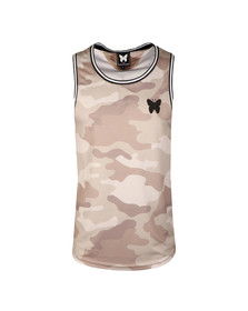 Good For Nothing Mens Grey Camouflage Vest