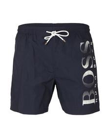 Boss Mens Blue Octopus Swim Short