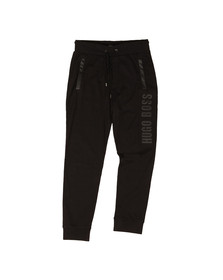 Boss Mens Black Large Logo Sweat Pant