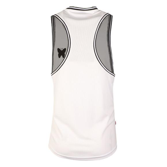 Good For Nothing Mens White Racer Vest main image