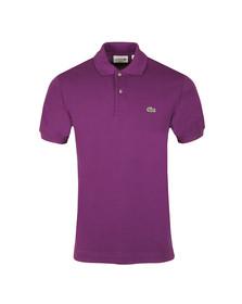 Lacoste Mens Purple L1212 Plain Polo Shirt