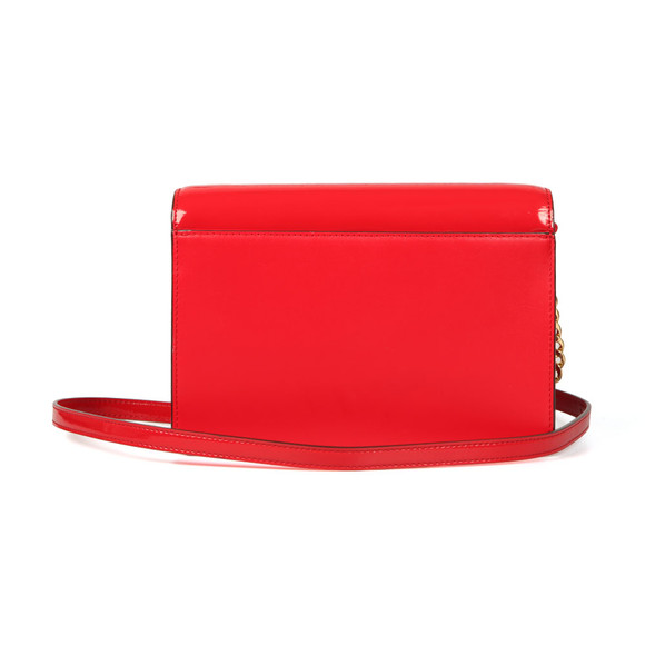 Michael Kors Womens Red Daniela Large Crossbody main image