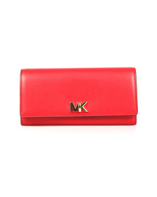 Michael Kors Womens Red Mott Carryall Purse