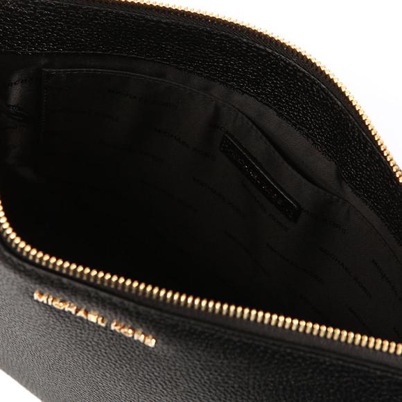 Michael Kors Womens Black Mercer Large Box Travel Pouch main image