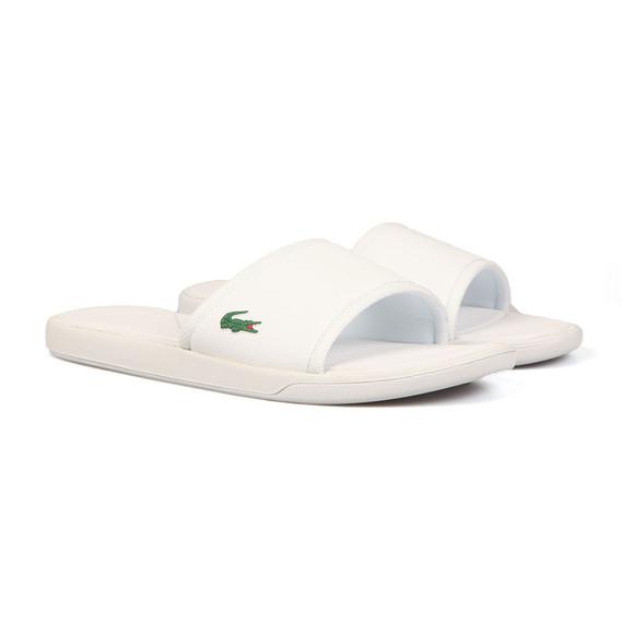 Lacoste Sport Mens White L.30 Slide Sport Flip Flop main image