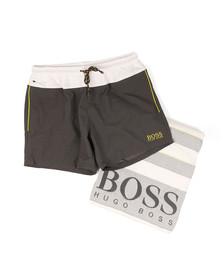 Boss Mens Grey Beach Towel & Short