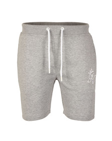 Gym king Mens Grey Fleece Shorts