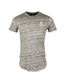 Gym king Mens Grey SS Space Dye T-Shirt