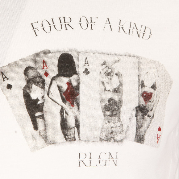 Religion Mens White Four Of A Kind T Shirt main image