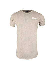 Fresh Couture Mens Grey Small Logo T Shirt