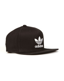 Adidas Originals Mens Black Trefoil Snap back Cap