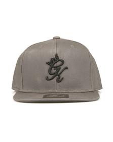 Gym King Mens Grey Core Signature Snapback