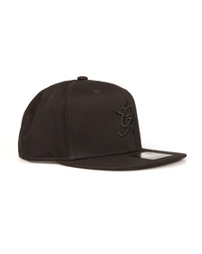 Gym king Mens Black Core Signature Snapback