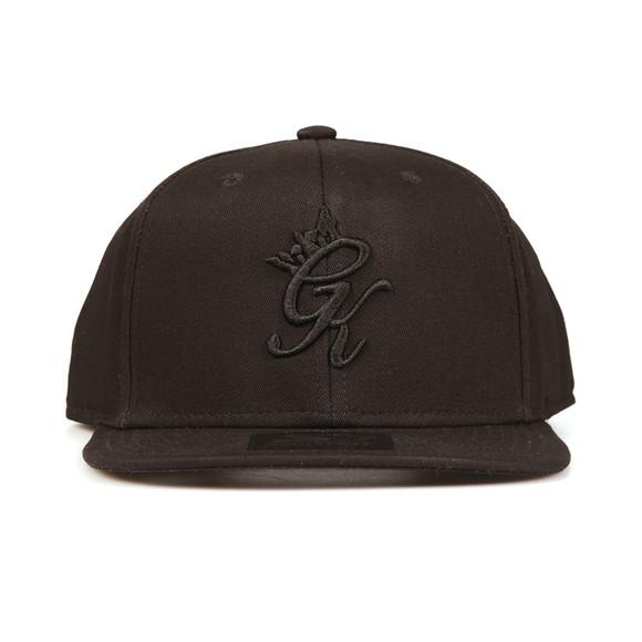 Gym king Mens Black Core Signature Snapback main image