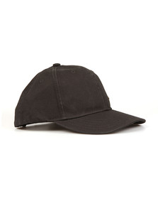 True Religion Mens Black Core Metal Logo Cap