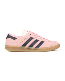 Adidas Originals Womens Pink Hamburg Trainer