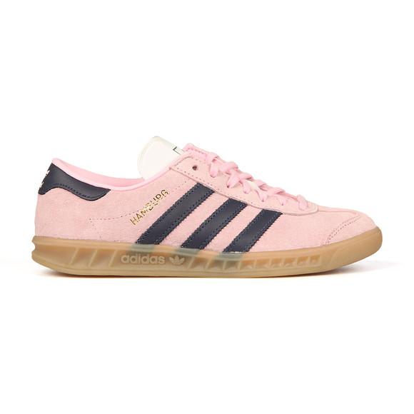 Adidas Originals Womens Pink Hamburg Trainer main image