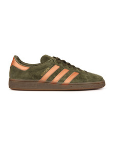 Adidas Originals Mens Green Munchen Trainer