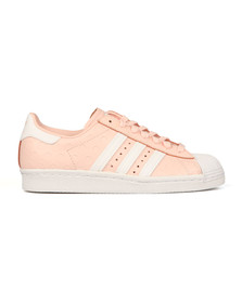 Adidas Originals Womens Pink Superstar 80s Trainer