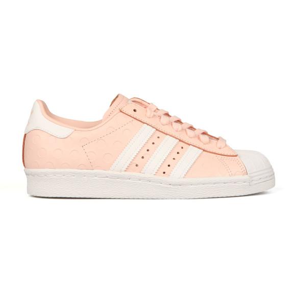 Adidas Originals Womens Pink Superstar 80s Trainer main image