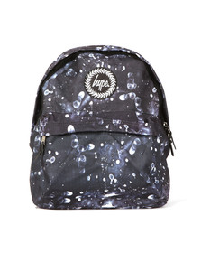 Hype Unisex Multicoloured Fingerprint Backpack