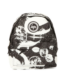 Hype Unisex Multicoloured Screenprint Space Backpack