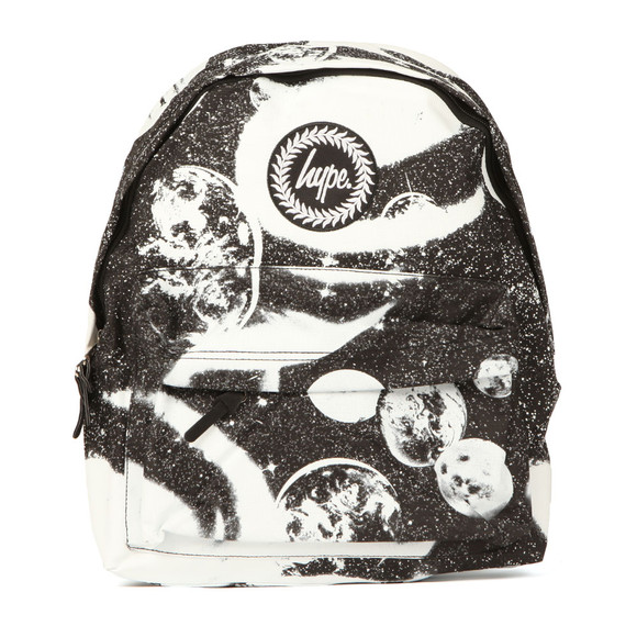 Hype Unisex Multicoloured Screenprint Space Backpack main image