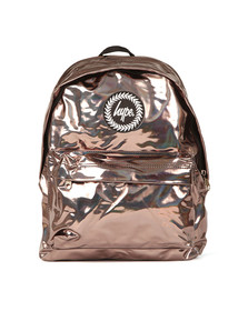 Hype Unisex Brown Holographic Backpack