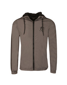 Gym king Mens Grey Windbreaker Jacket